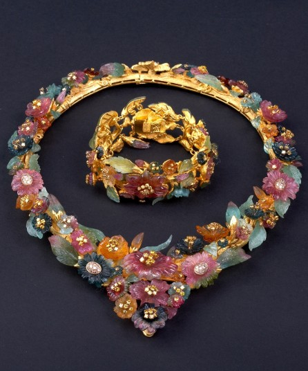 Floral Necklace by Atelier Zadora